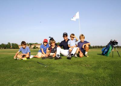 Il golf secondo i bambini