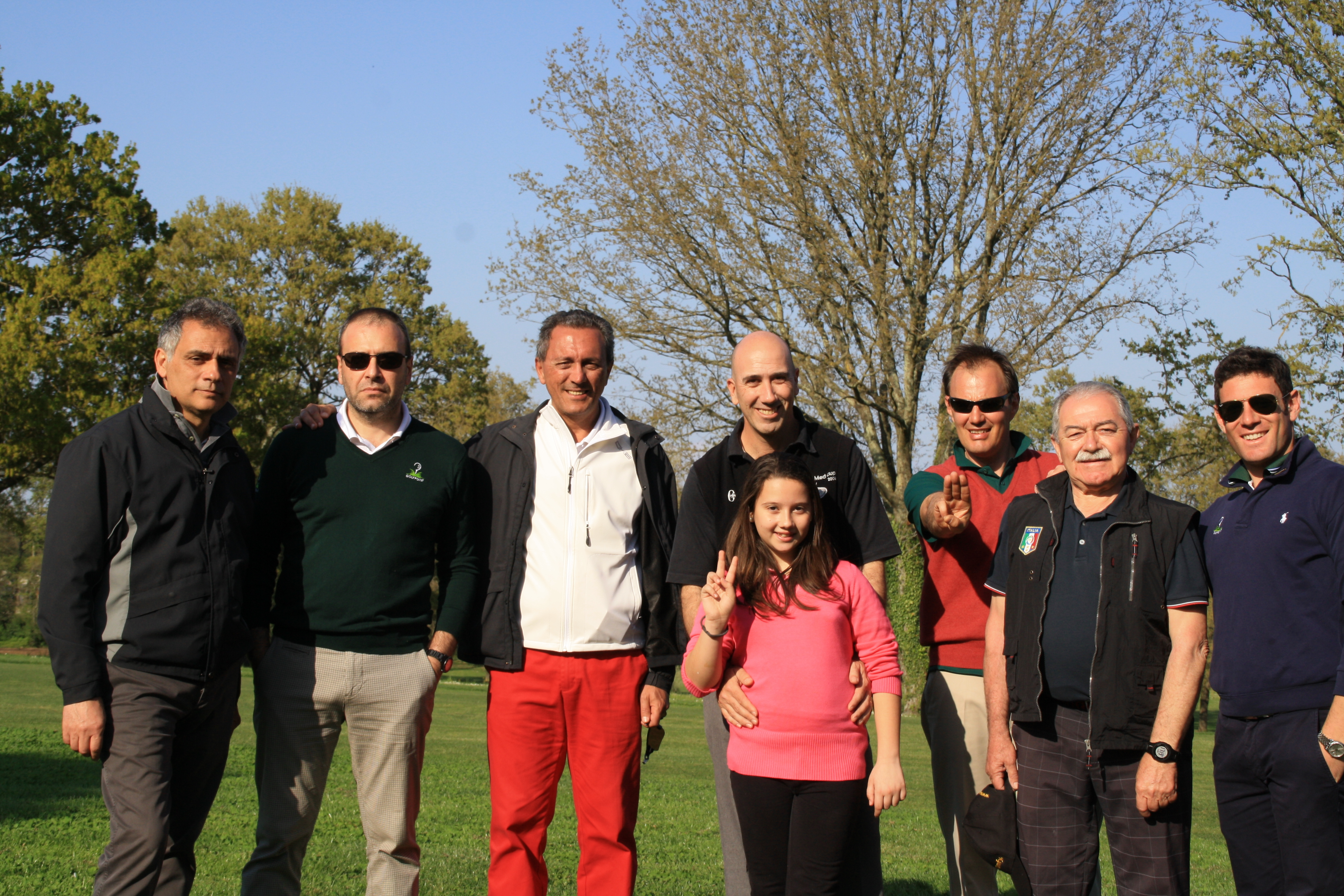 Trackman day al Golf Club Olgiata