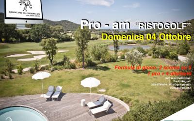 """Pro Am """"RISTOGOLF"""" – 4 Ottobre"""
