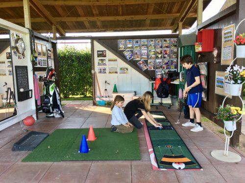 lezioni golf roma