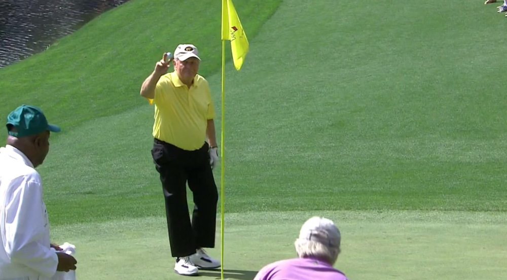 Augusta Masters: Jack Nicklaus show