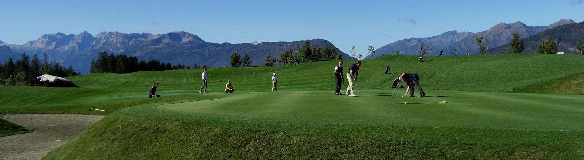 formule di gioco golf